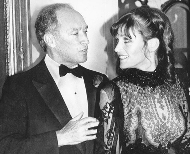 Pierre Trudeau with actress Margot Kidder