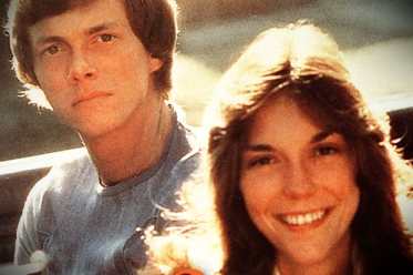 1970's brother and sister singing duo, The Carpenters.
