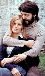 Paul and Linda McCartney back in the late 1960's/early 1970's