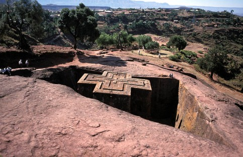 Lalibela - Do many WASPs know that this church in Ethiopia is also a part of their religious background?