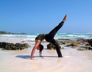 Many aspiring yoga instuctors dream of a lifestyle which looks like this....