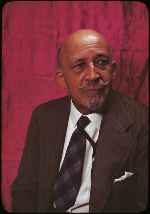 W.E.B DuBois - serious academic and activist on racial issues.