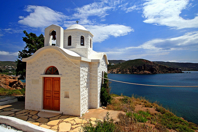 A typical Patmos chapel
