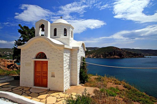 A typical Patmos chapel