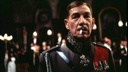 Sir Ian McKellan, played Richard III brilliantly set against a Nazi-like background.