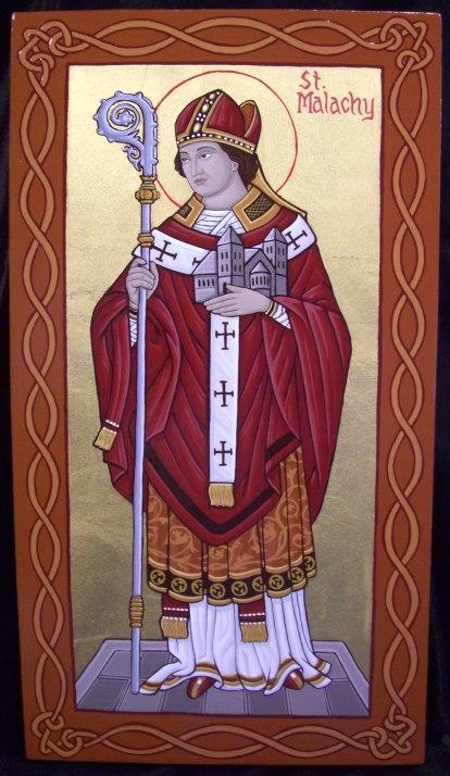 St. Malachy, first Irish saint