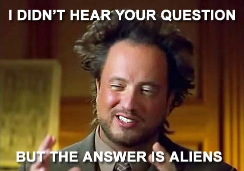 Giorgio Tsoukalos: Dude you need a new hair style!