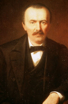 The discoverer of ancient Troy, Heinrich Schliemann