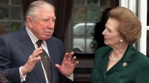 General Pinochet and Maggie Thatcher - birds of a feather flocking together