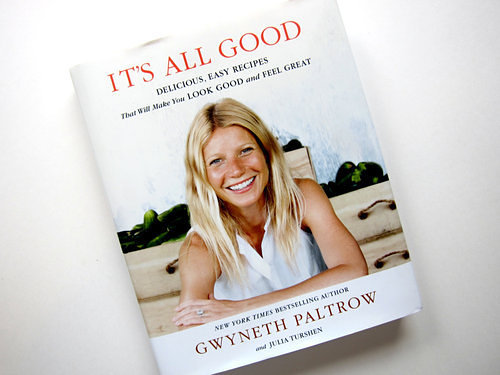 Gwynnie's new book. (Photo: Raphael Brion/Eater)