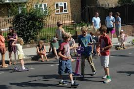 Remember when kids were out playing in the streets instead of hiding inside glued to video games?
