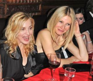 Gwynnie-poo and Madonna, classic frenemies, any wonder why they don't hang together anymore?