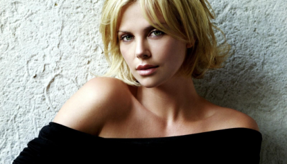 Another classic Hollywood blonde: Charlize Theron