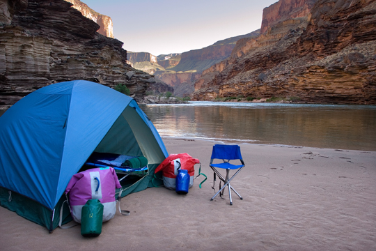 I've camped in the Grand Canyon, and it's seriously the best way to experience it.