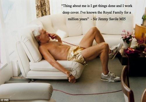 Jimmy Savile = Freakin' pervert extraordinaire