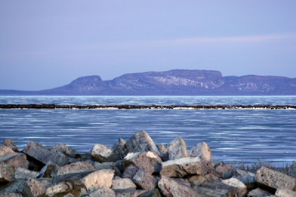 The Sleeping Giant, Thunderbay, Ontario