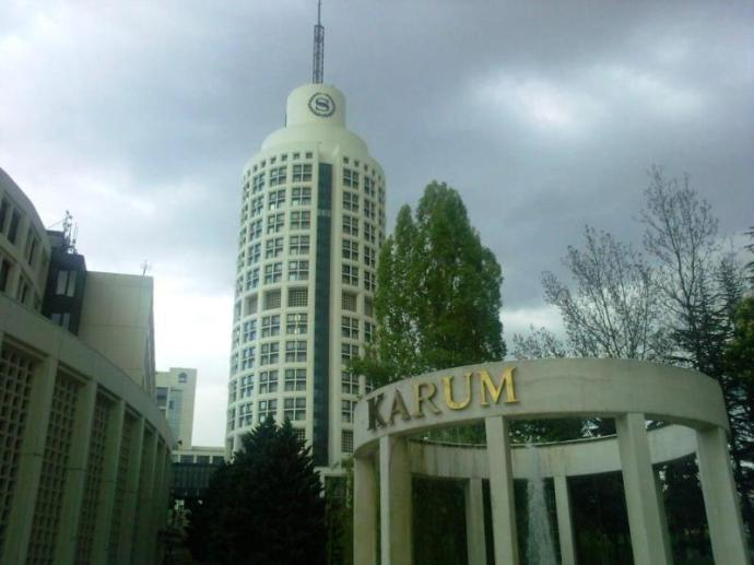Karum, is a super-posh mall at the base of the Sheraton hotel in Ankara.