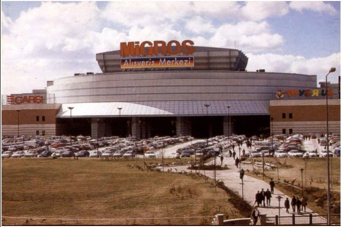 The Migros mall in Ankara.