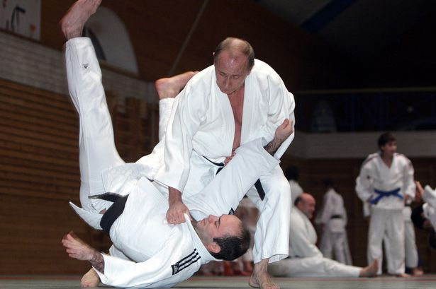 Putin is also a Judo champion.