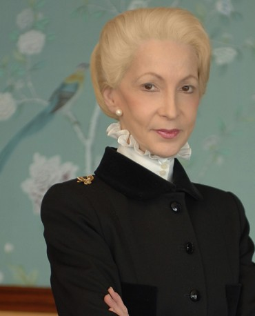 Lady Barbara Judge. With legit credentials up the wazoo, when you look at this person, do you feel any warmth at all or do feel like a cold draft suddenly went down your neck?