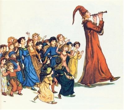 The Pied Piper of Hamelin.