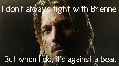 C'est quoi votre maison GoT ? - Page 2 Jaime_lannister__i_don_t_always_fight_brienne_meme_by_forinsyther-d6594lr