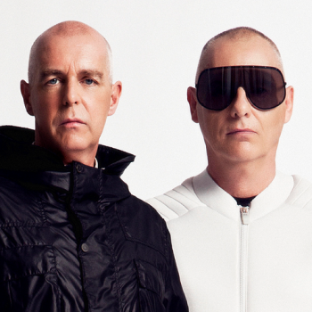 The amazing duo of former journalist, Neil Tennant and Chris Lowe aka the Pet Shop Boys