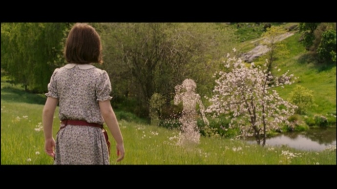 "Lucy Pevensie seeing a dryad for the first time in the film version of ""The Lion, the Witch and the Wardrobe"""