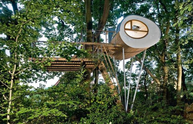 If you want to check out even more amazing tree houses, have a look at this article.