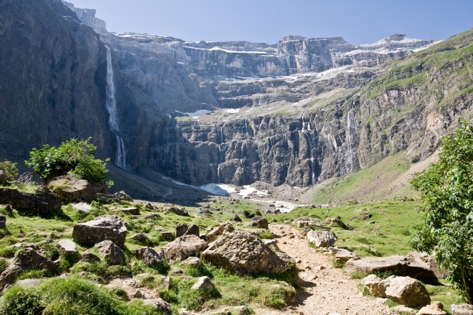 The Cirque de Gavarnie in the French Pyrenees