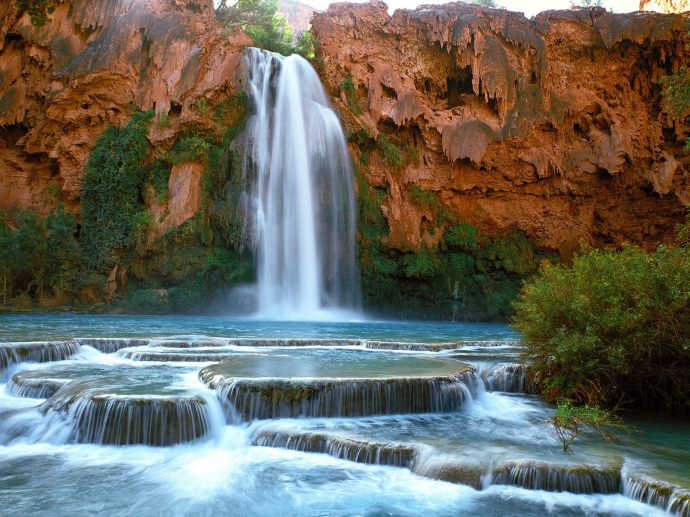 Havasu waterfalls, Arizona