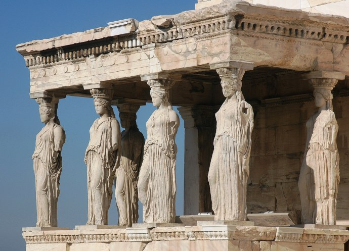 These are duplicates. the orginals, called the Elgin marbles sit in the London Museum. Again, Greece has repeatedly asked for them back and England refuses