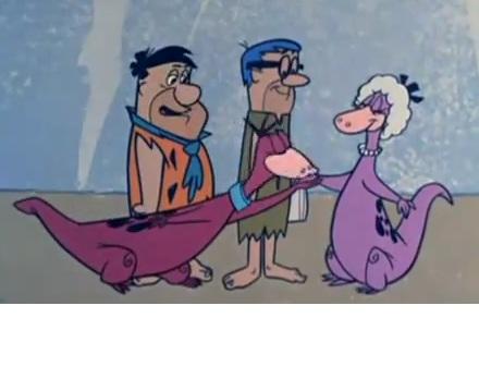 Dino and Sassy