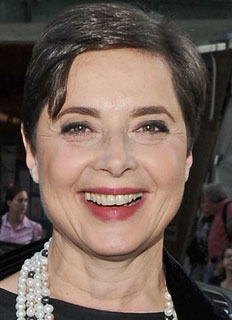 Former model, now actress and producer, Isabella Rossellini is looking more and more like her mother, Ingrid Bergman, with each passing year.