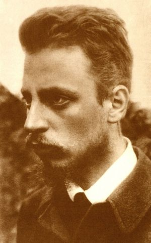 The poet Rainier Maria Rilke influenced Wim Wenders in no small part.