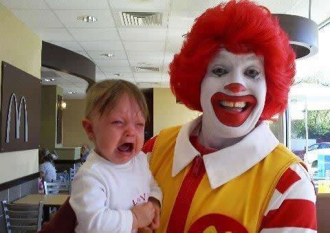 Poor kid!