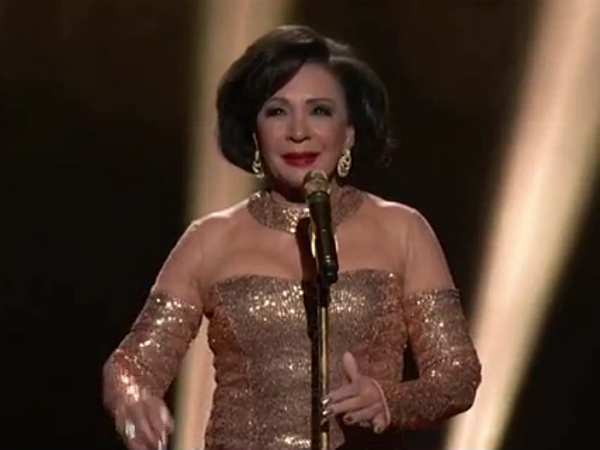 "On the other hand, dame Shirley Bassey killed it last year when she belted out ""Goldfinger"""