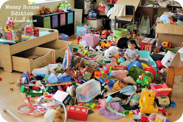I can barely make the kid out from all the toys!