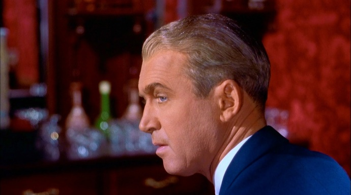 """It wasn't until he was way past his prime, could James Stewart play psychologically complex characters and pull them off fantastically, like Scottie Ferguson in """"Vertigo"""", recently voted the best film of all time."""
