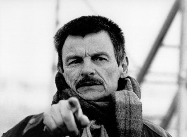 "Boss. The mystical poet of cinema, Andrei Tarkovsky. If Rumi had been a filmmaker, the closest approximation would have been Tarkovsky. His gravestone in Paris reads,""To the man who saw the Angel."""