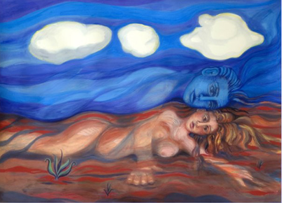 """""""Father Sky Mother Earth"""" by Gail Lois Jaffe"""
