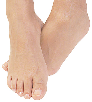 Bye-bye pinky toe? Hmmm....