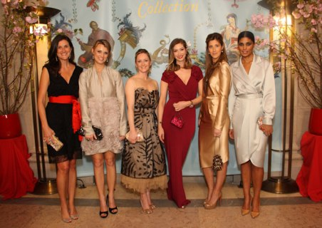 A typical group of socialites as featured in New York Social Diary.