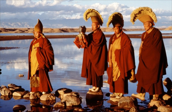 Kundun (1997) a film about the Dalai Lama. Movie was nothing to write home about.