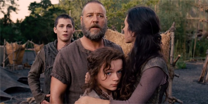 Russell Crowe as Noah (you're kidding me, right?)