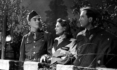 (L toR) Sargeant Bob, Alison and Sargent John