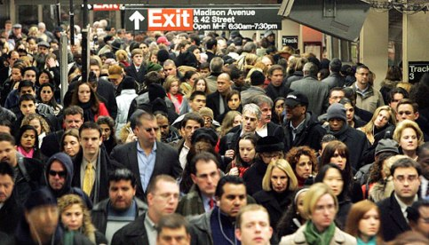 Crowded-Subway-Station