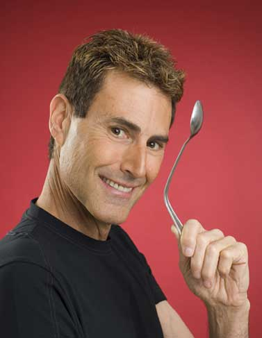 Uri Geller and his bending spoons.