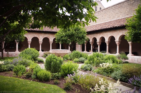 The Cloisters, part of the Met Museum.