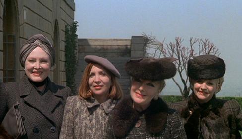 The four older prostitutes.